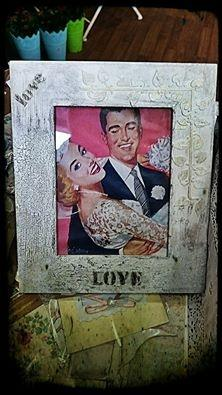 Рамка за снимка LOVE