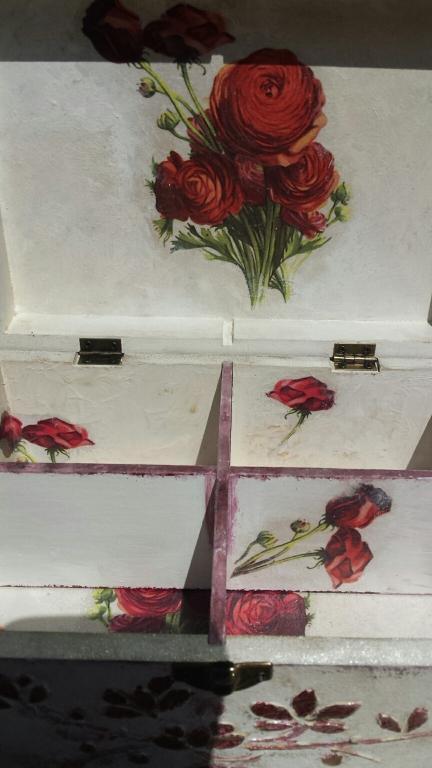 Легло от рози