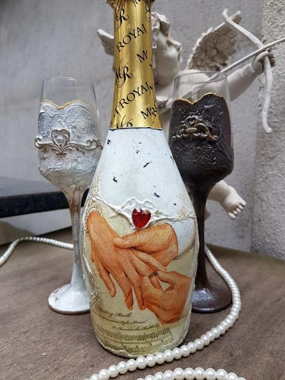 Сватбено шампанско Forever mine