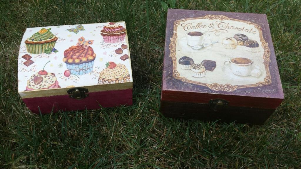 Кутия за бонбони ръчна изработка