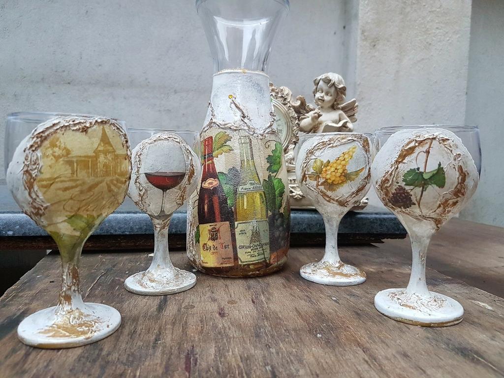 Сет за вино Precious old wine