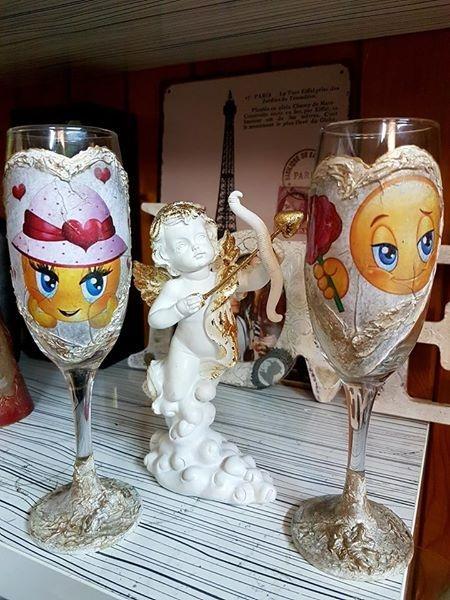 Романтични чаши For you love