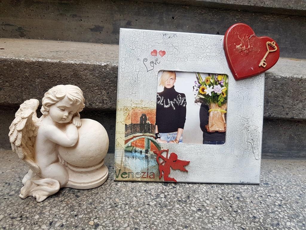 Рамка за снимка ръчна изработка Venezia