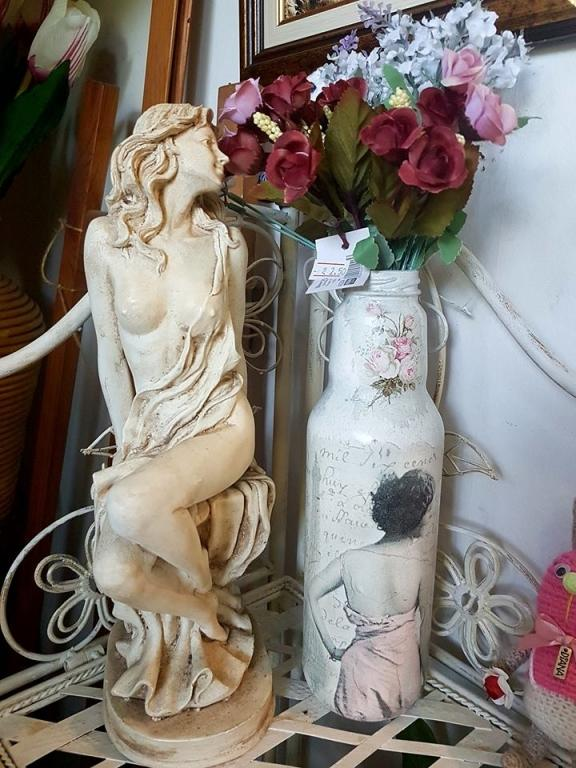 Ваза Lady Pink ръчно декорирана