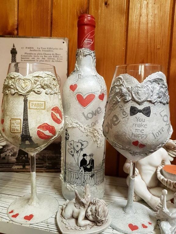 Бордо в романтичен стил Love in Paris