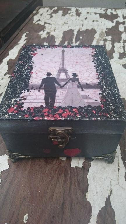 Романтична кутия  за бижута Je T`aime